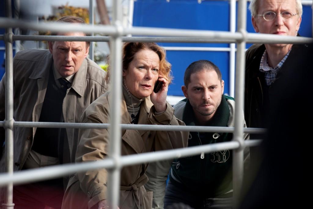 Viggo, Jenny, Jorge en Arto uit Arne Dahl. Foto met dank aan Lumière Crime Series