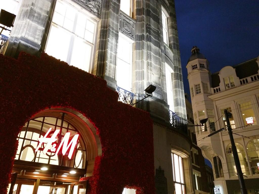 Zweedse modewinkel H en M in Den Haag