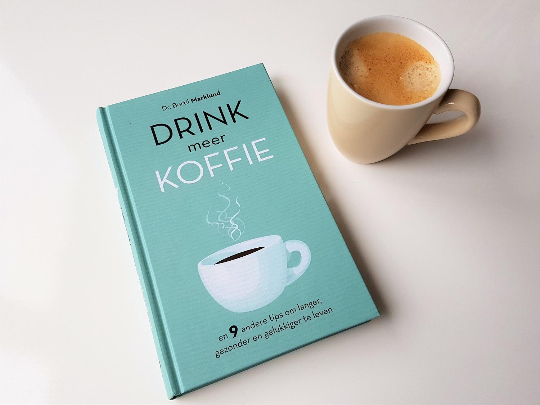 Het boek Drink meer koffie