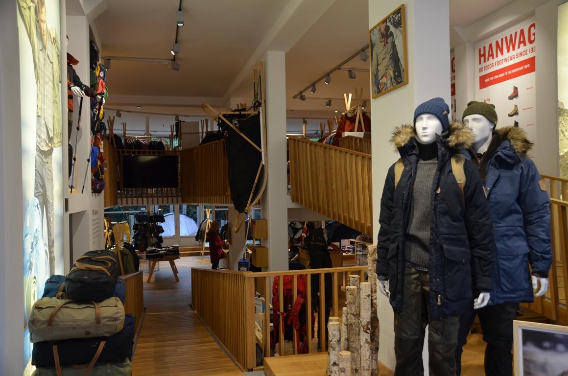Fjällräven-winkel in Amsterdam