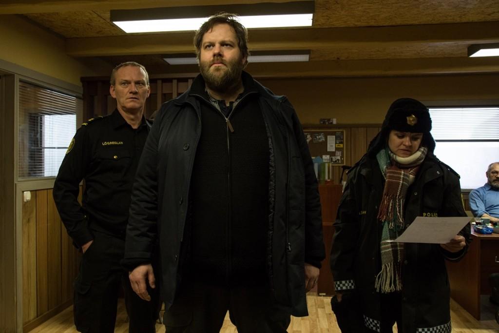 IJslandse serie Trapped
