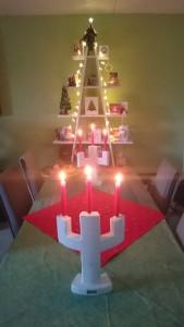 Kerststandaard van H Johnsen Design