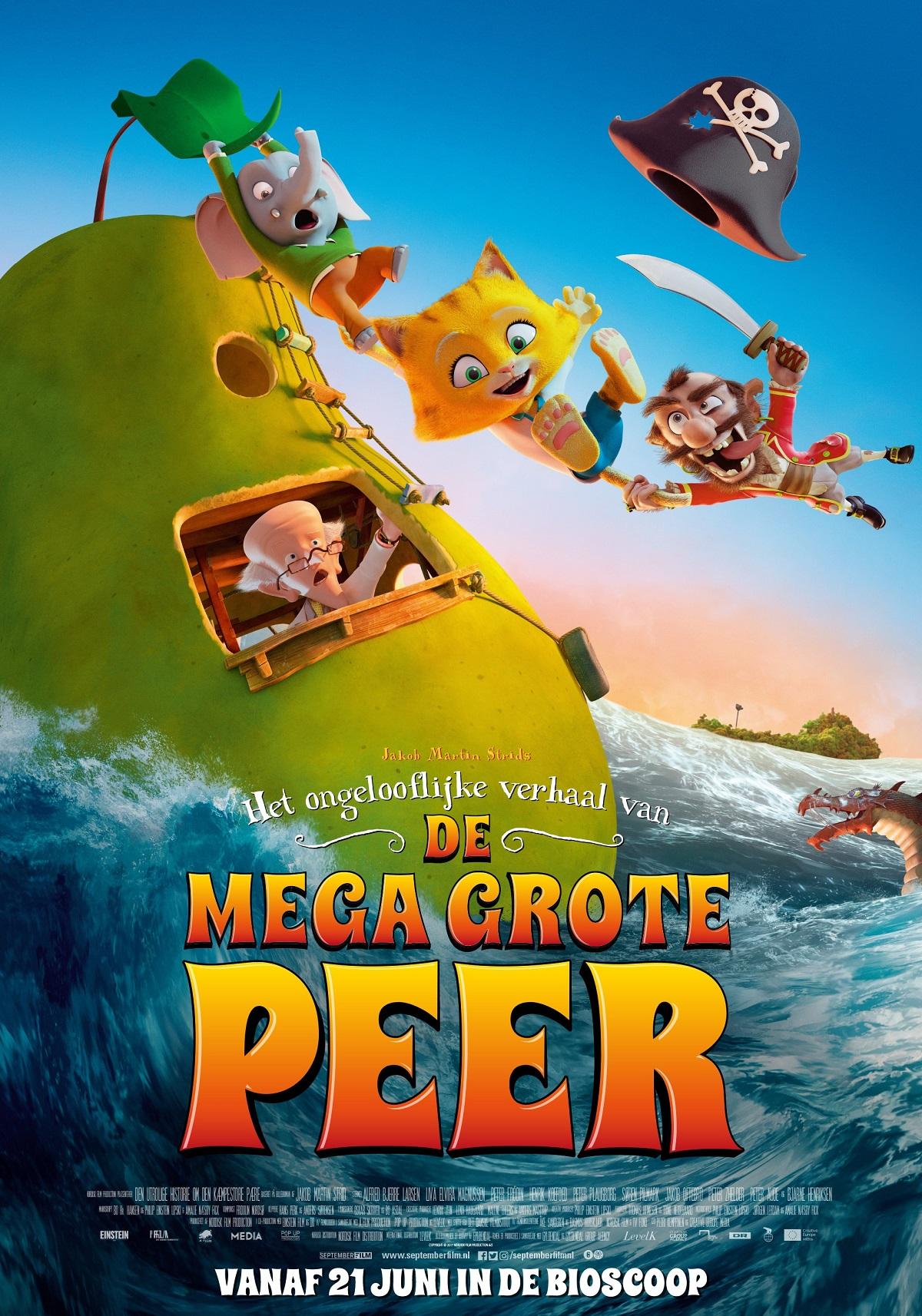 Het ongelofelijke verhaal van de mega grote peer