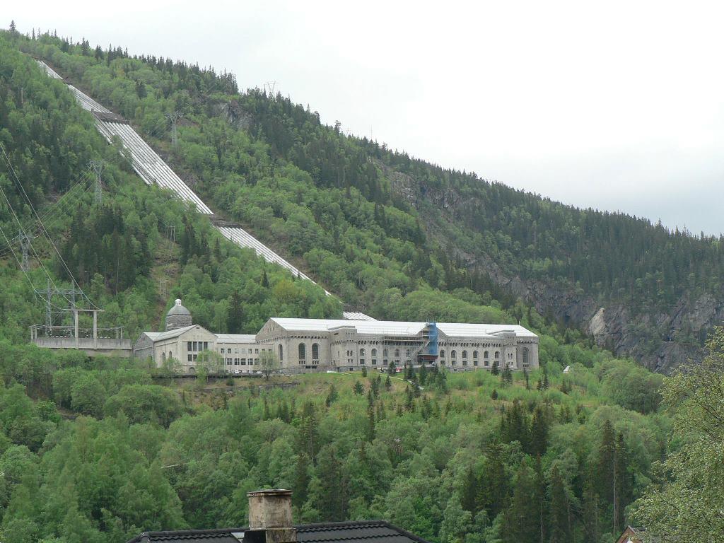 Rjukan in Noorwegen