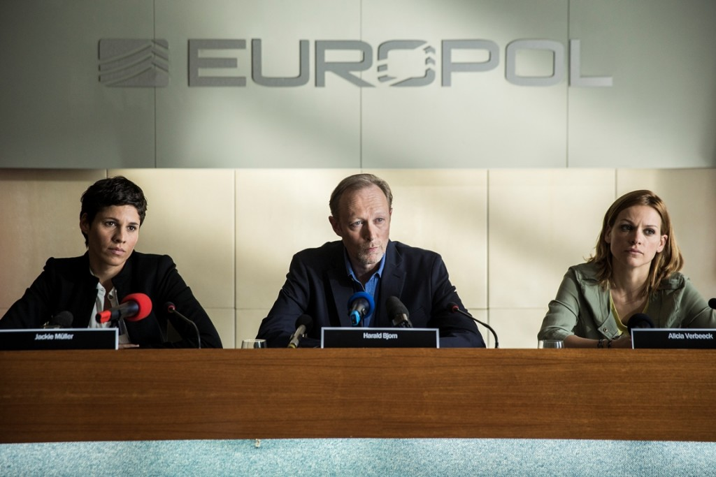 Lars Mikkelsen in de serie The Team