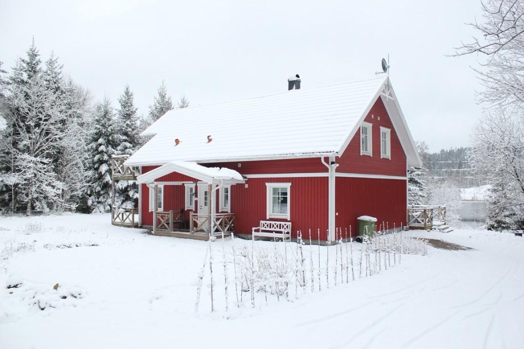Nieuwe huis in Zweden van Katrien