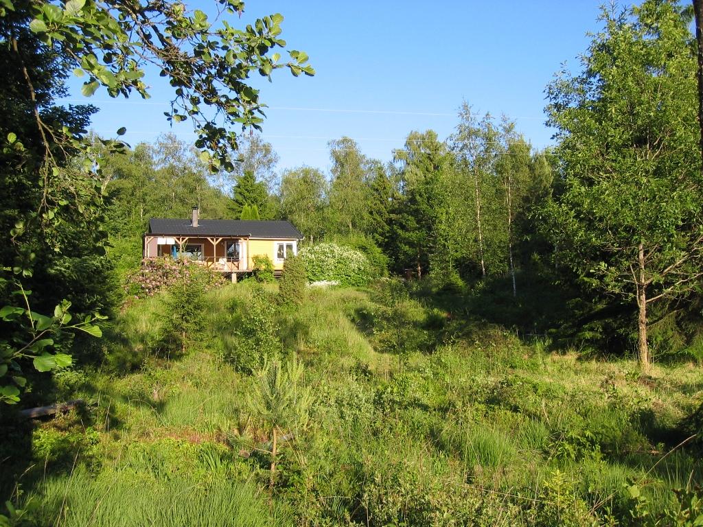 vakantiehuisje in Zweden van Katrien