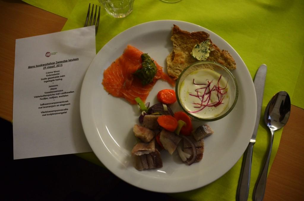 Zweedse-kookworkshop-voorgerecht