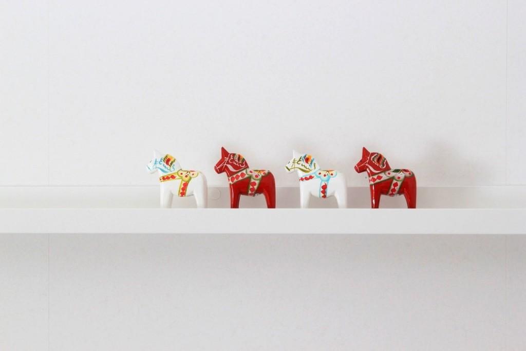 Zweedse paardjes bij The Swedish Giftshop