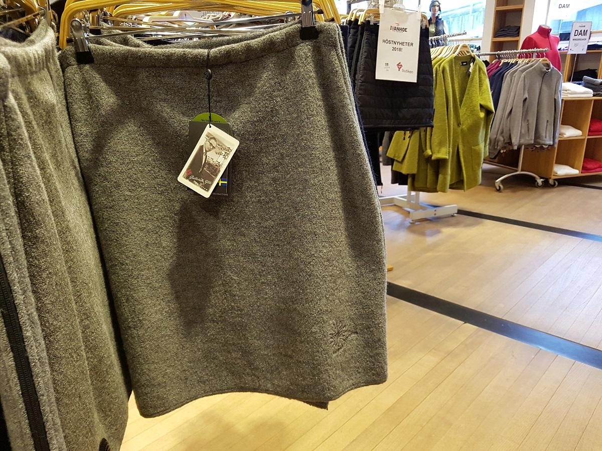Wollen kleding van Ivanhoe of Sweden