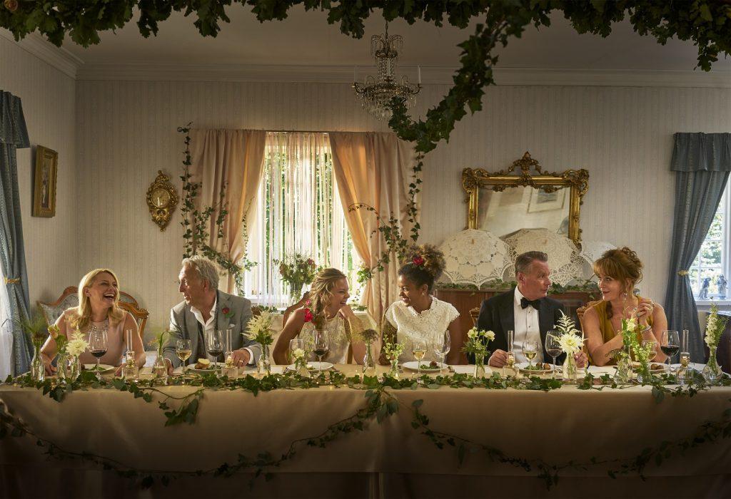 A wedding, a funeral, a christening