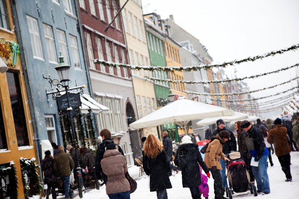 Kerst in Nyhavn, Denemarken