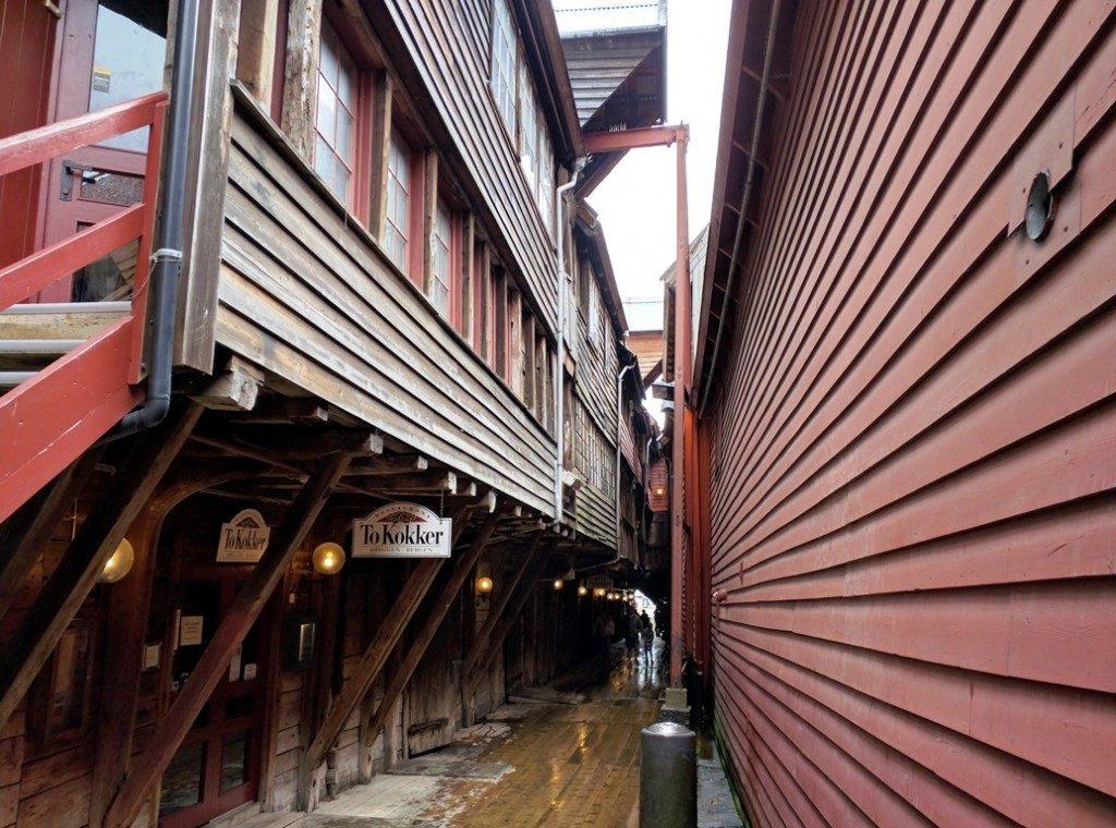 Bergen in Noorwegen
